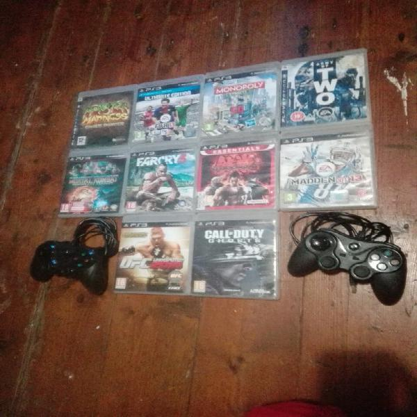 Playstation 3 games and controls