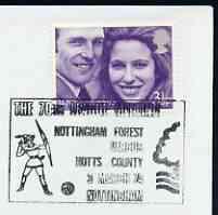 Postmark - great britain 1974 cover bearing illustrated