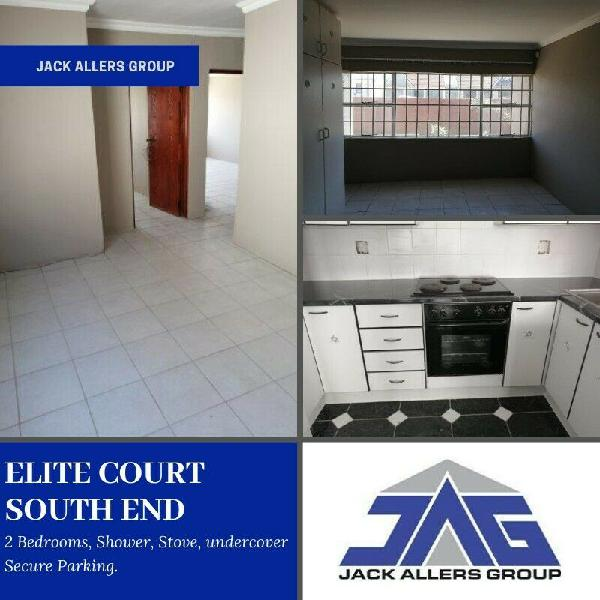 2 bed flat to rent in south end - elite court