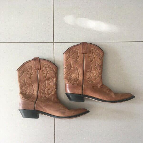 Cowboy boots - old west