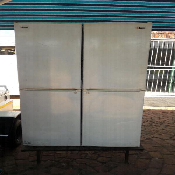 Double fridge/freezer