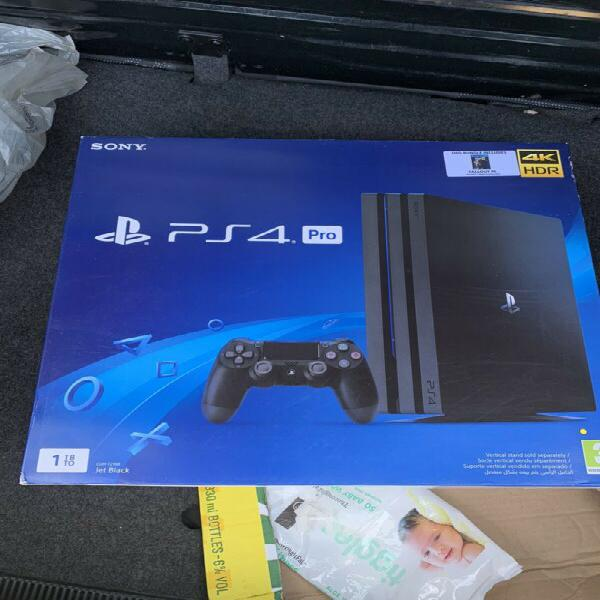 Sealed PlayStation 4 Pro(1TB) With 1 Game For Sale