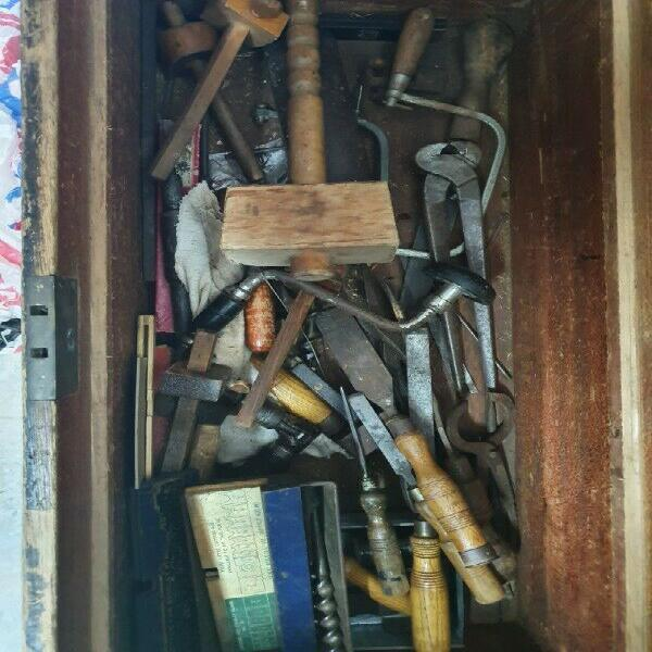 Antique / vintage 1920 s wood working hand tools