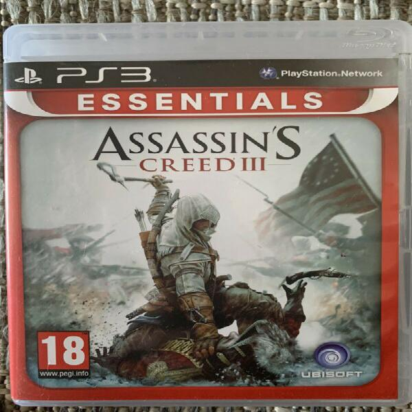 Assissin's creed 3 - ps3 game for sale