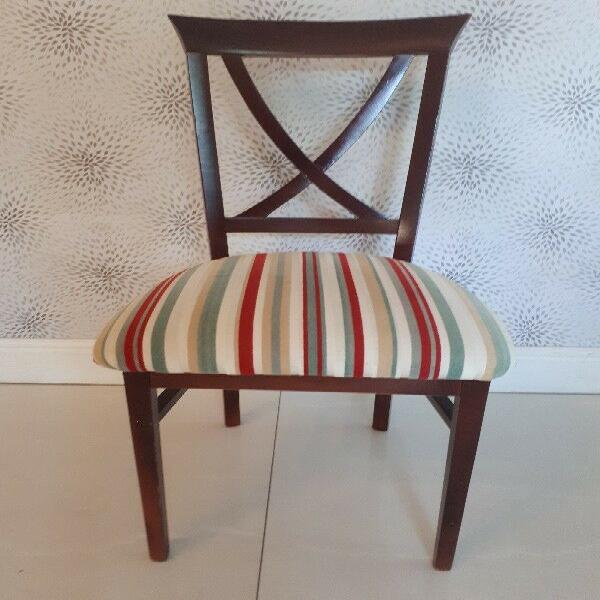 Dining room chairs x 6 from peter j stuart