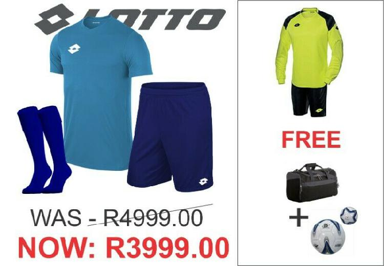 LOTTO SOCCER KITS AT GREAT PRICES!!!!