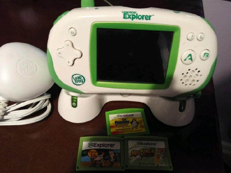 Leapster explora with games