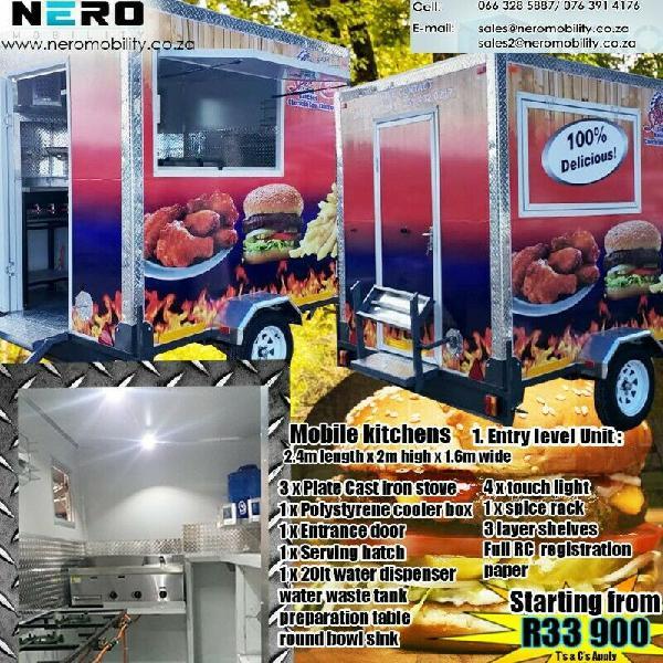 Mobile kitchens. 8