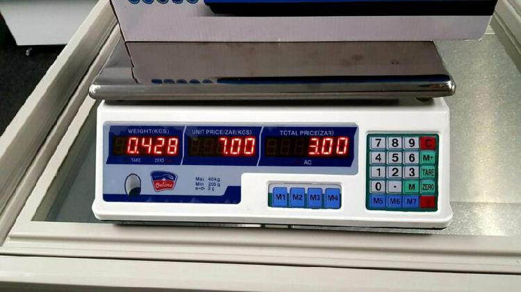 Scale for sale - digital meat scale - butcher scale with