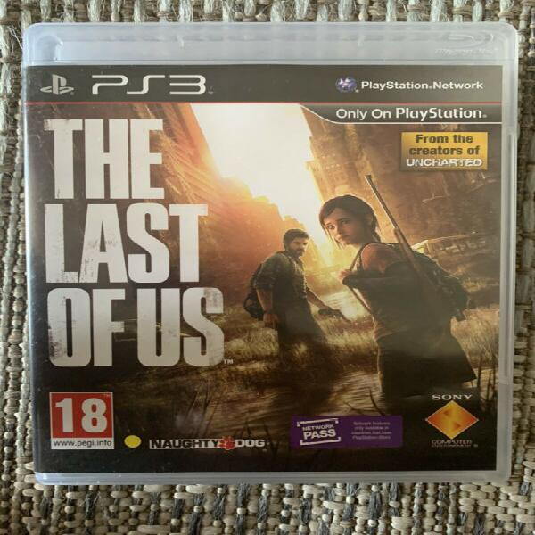 The last of us - ps3 game for sale