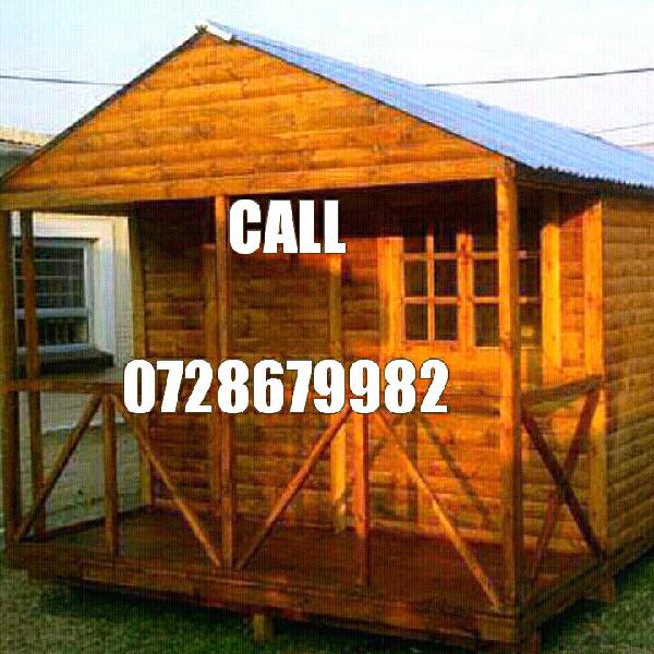 Wooden hse for sale