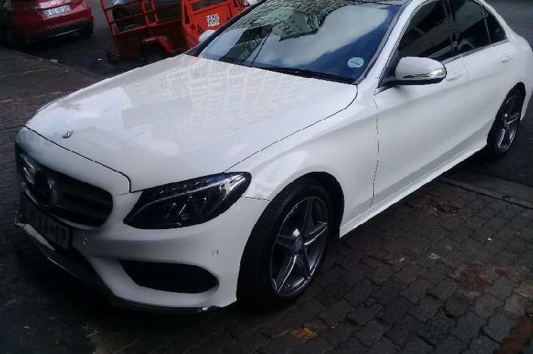 Mercedes benz c class c250 amg line 2014