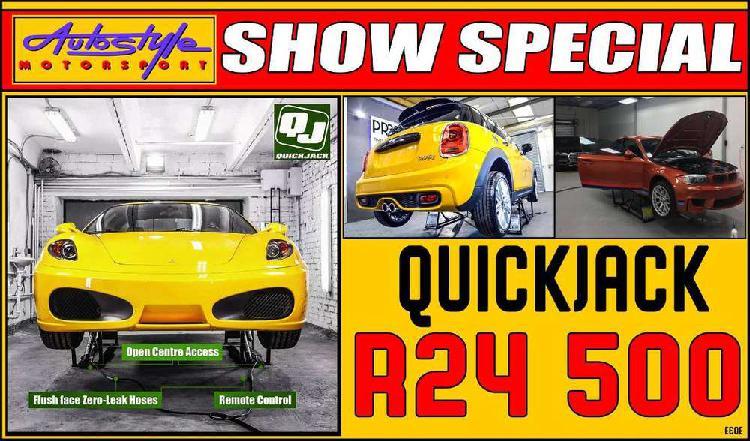Quick jack quickjack bl-7000slx portable car lifting system