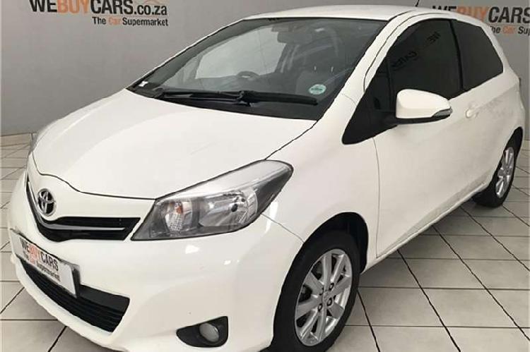 Toyota Yaris 3 door 1.0 XR 2012