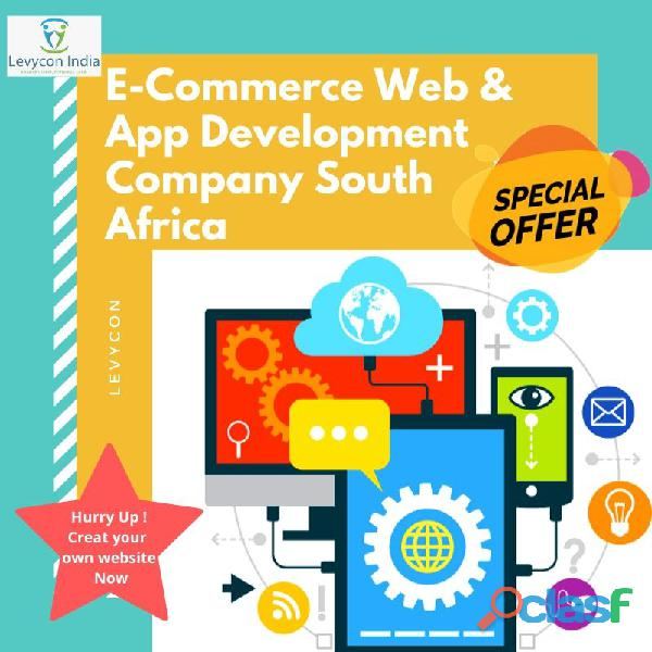 E commerce web & app development company south africa