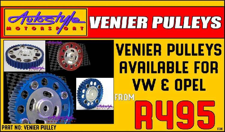 vernier pulley pulleys available for VW, volkswagen and