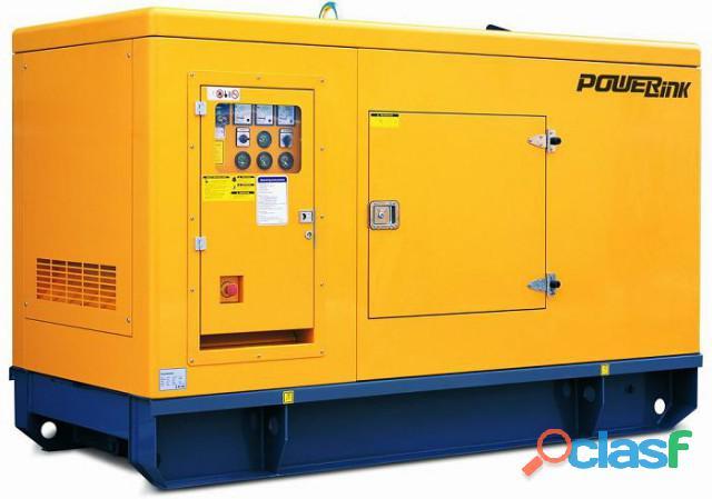 Perkins 30 kva silent 3 phase ats diesel generator