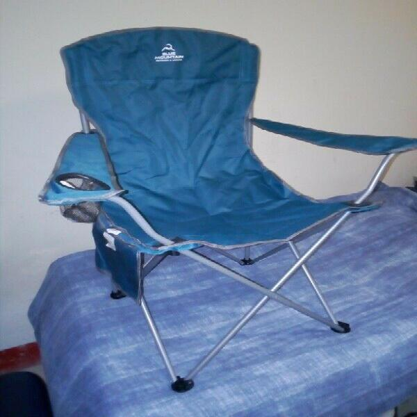 Blue mountain camping chair