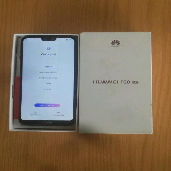 Huawei P20 lite black dual sim 64gb