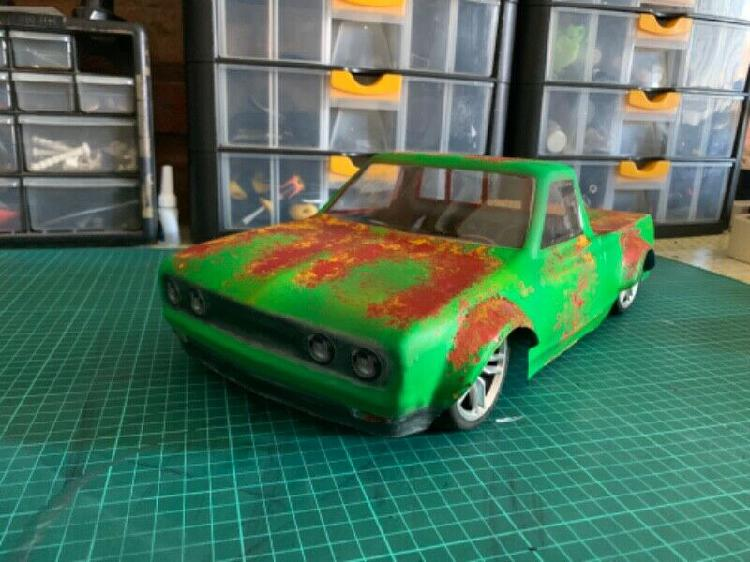 Mazda Bakkie 1:10 Hpi, Traxxas, RC Car, RC Truck, RC body,