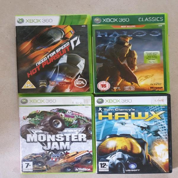 Xbox 360 games for sale.