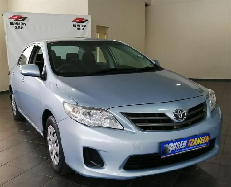 Blue toyota corolla 1.3 professional with 92000km available