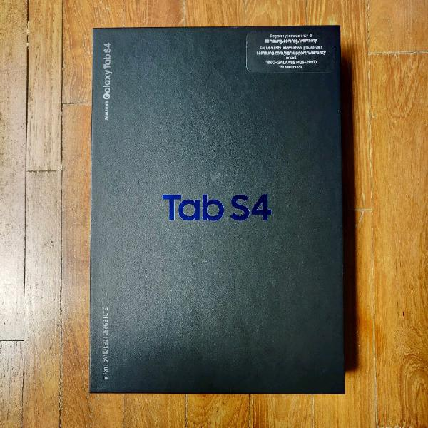 New samsung galaxy tab s4 256 gb lte with box for sale