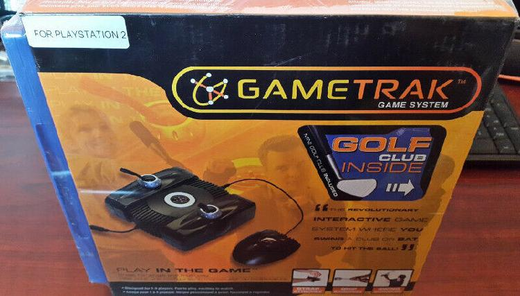 Ps2 gametrak system plus ps2 real world golf 2007 game