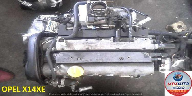 Imported used opel astra/corsa 1.4l 16v engines for sale at