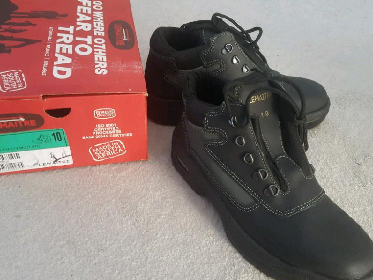 Safety boots mens (brand new)