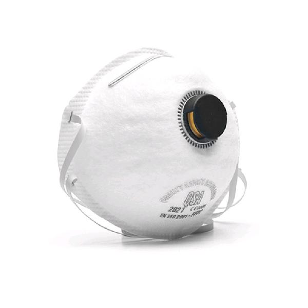 Ffp2 dust mask with valve