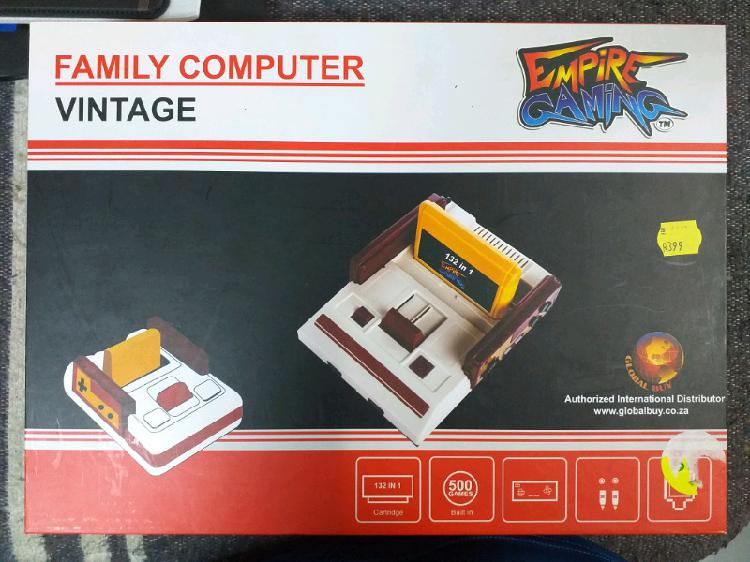 Vintage family computer / tv game