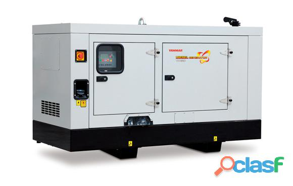 Yanmar 20kva silent 3 phase diesel generator set
