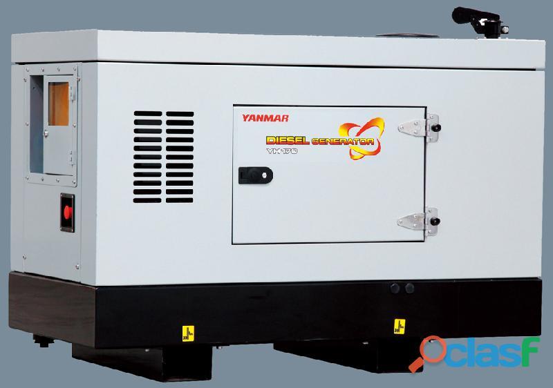 Yanmar 50kva silent 3 phase diesel canopied generator