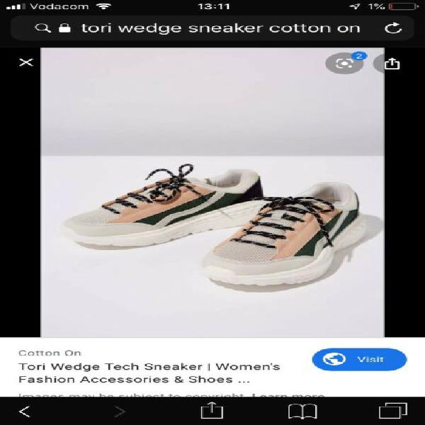 Cotton on sneakers - brand new