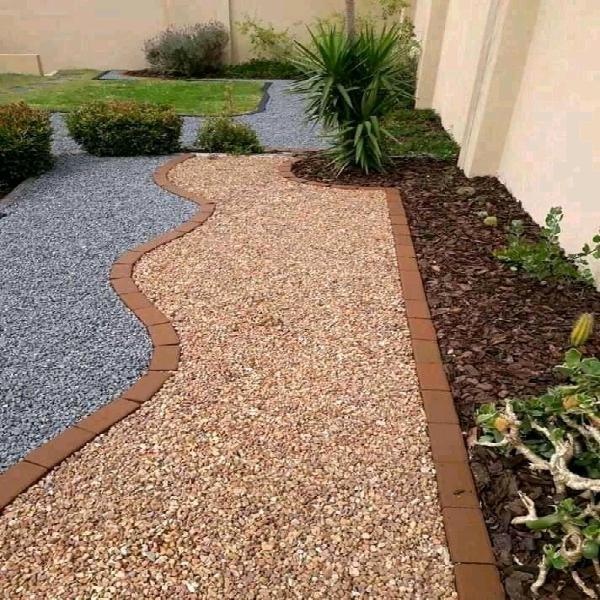 Garden stones and pebbles