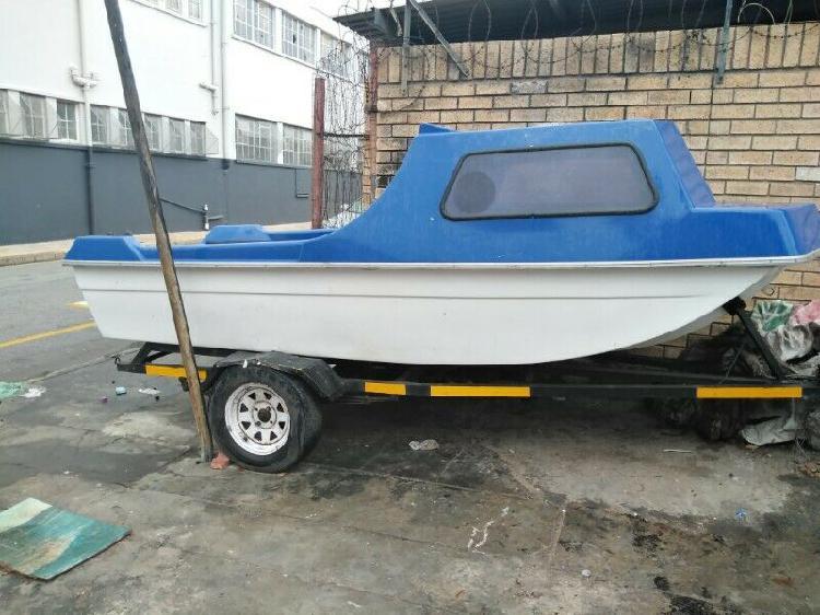 Cabin river boat