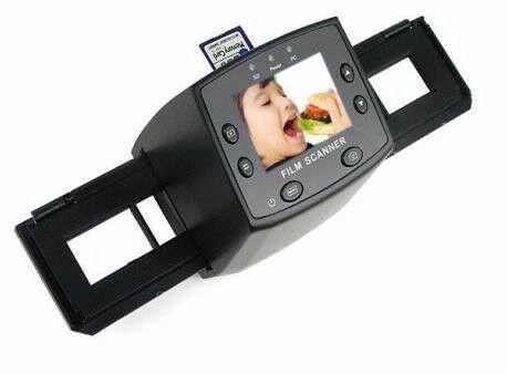 Film and slide scanner promo