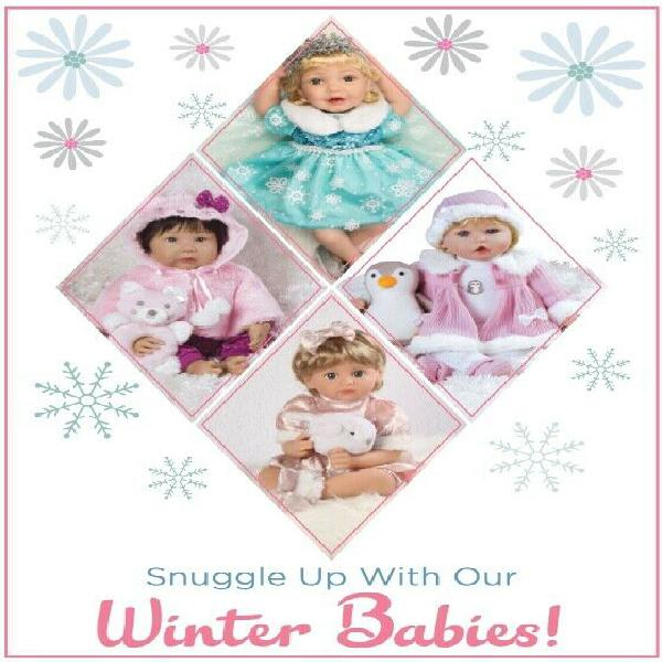 Newborn toddler dolls / winter selection
