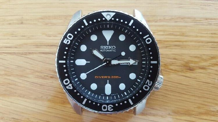 Seiko skx007k automatic 200m dive watch - watch head only -