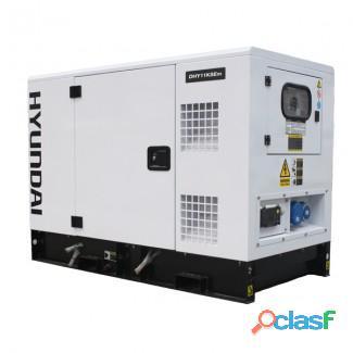 Hyundai 14kva 3 phase silent diesel ats generator