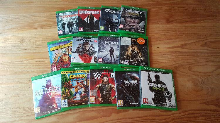 Xbox one games from r150 each
