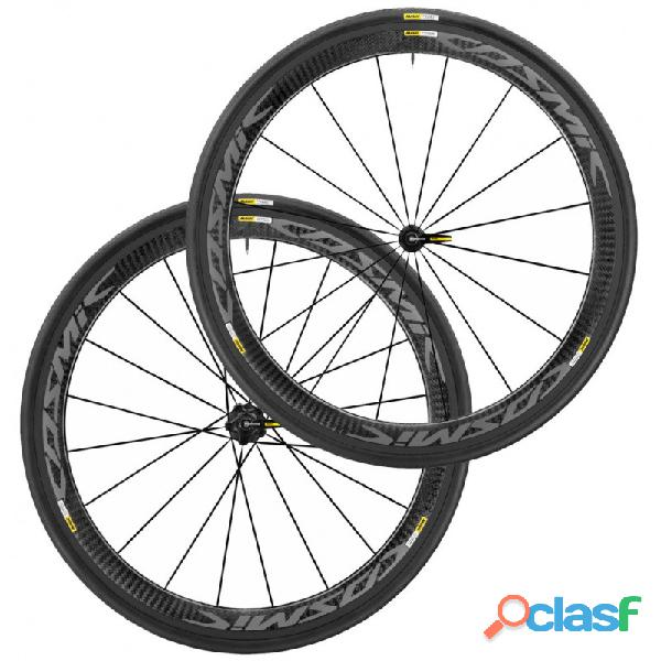2019 mavic cosmic pro carbon exalith clincher wheelset   (fastracycles)