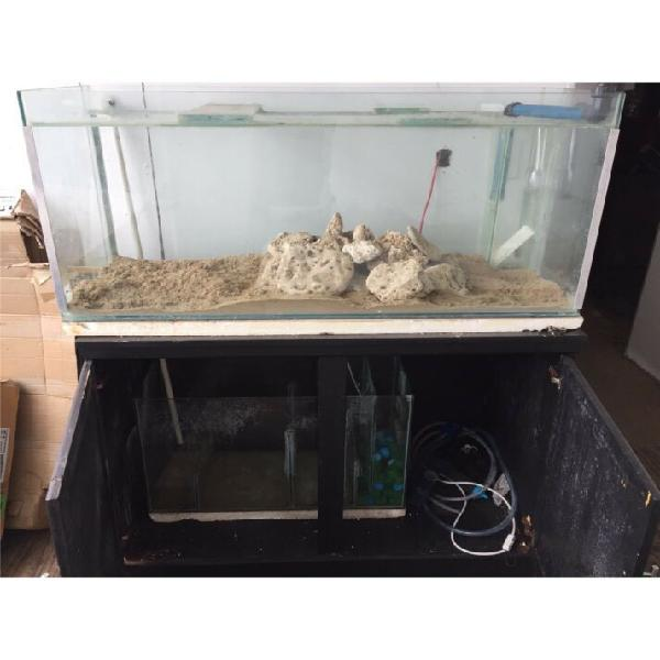 4ft salt water tank and sump