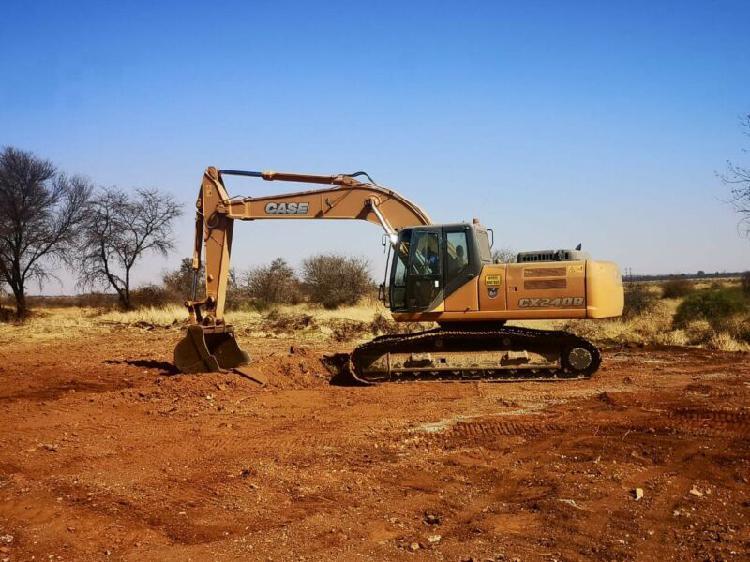 Case cx 240b excavator