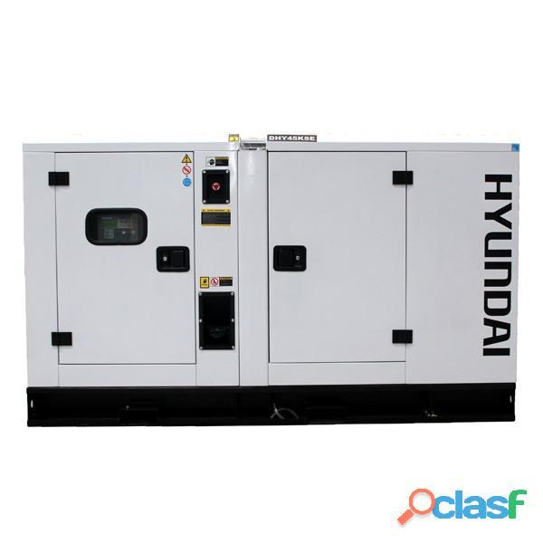 Hyundai 11 kva silent 1 phase diesel ats generator