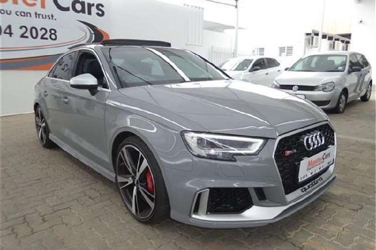 Audi rs3 sedan quattro 2018