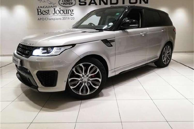 Land rover range rover sport supercharged hse dynamic 2016