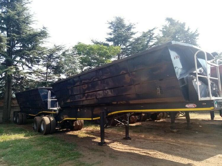 Qualified side tipper trailer for sale.