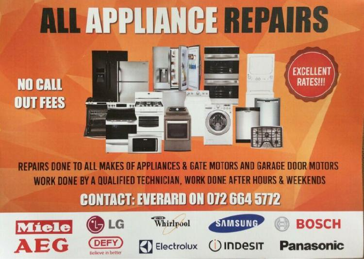 Stove all appliance repair